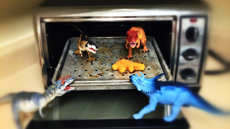 When Carl the Stegosaurus didn't come back from a snack-time trip to the kitchen, the gang went looking. What they found would haunt them for the rest of their days...